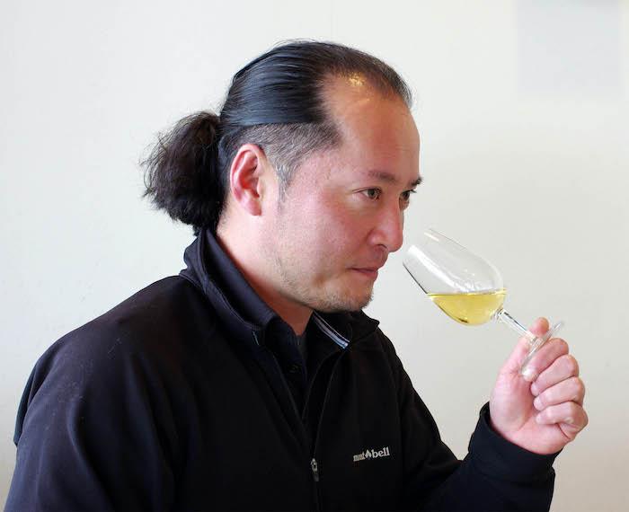 都農ワイン工場長赤尾誠二氏